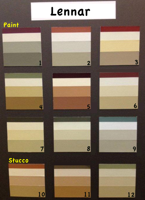 Sorrel Ranch Paint Colors
